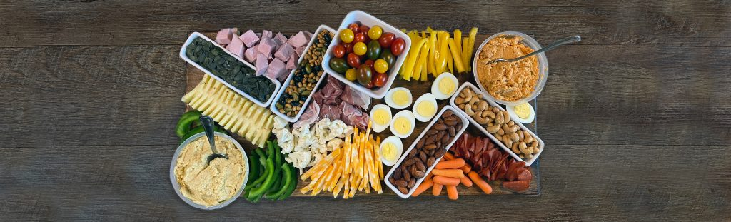 How to make a bariatric friendly charcuterie board