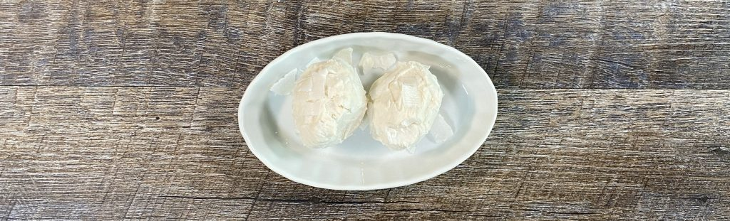 Picture of coconut power balls using unflavored protein powder