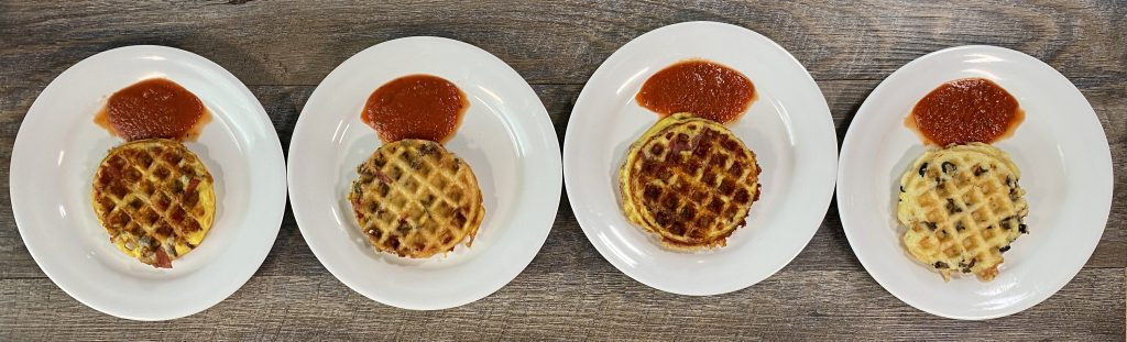 Picture of pizza chaffles