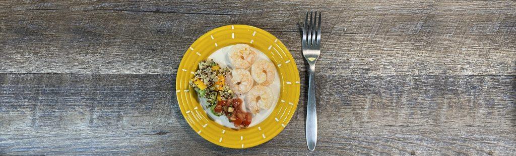 Picture of caribbean shrimp dish