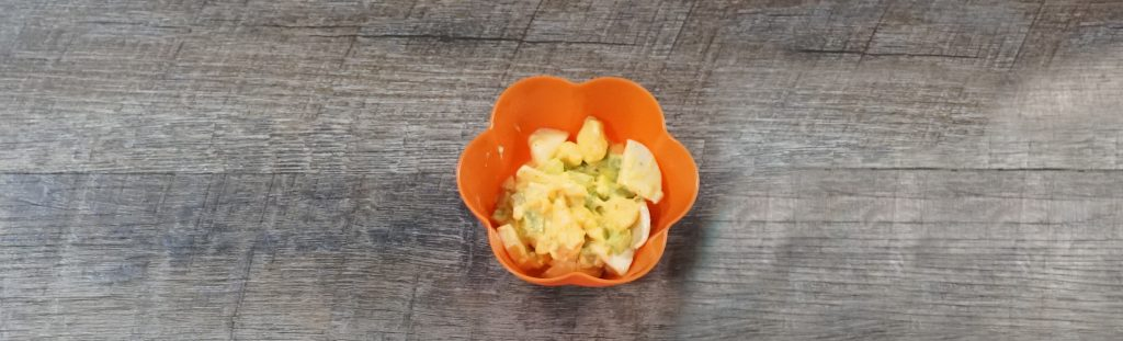 image of spicy egg salad